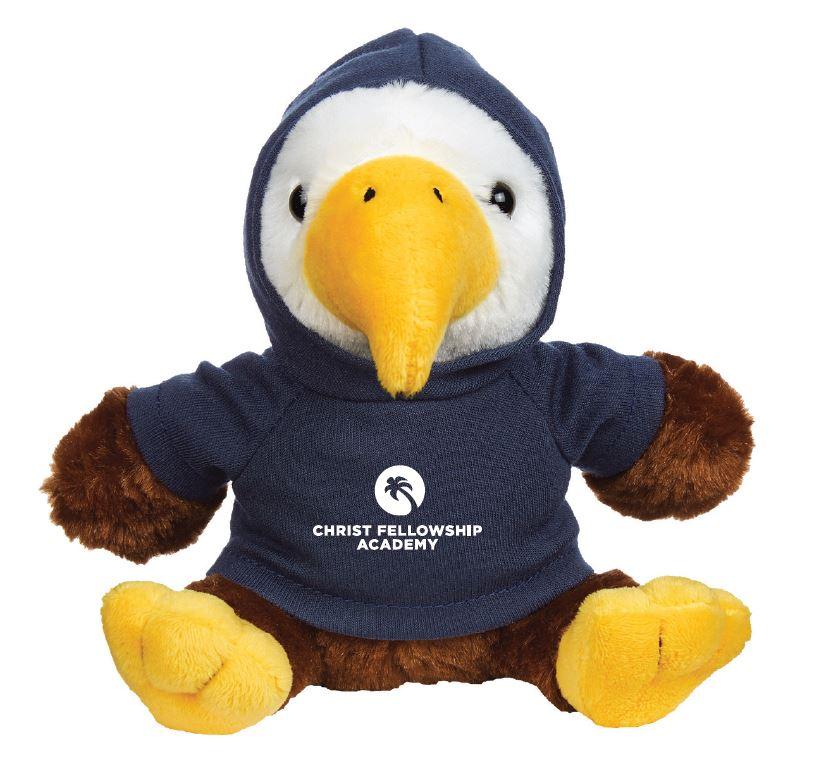 Cf Academy Eagle Mascot 6 Plush Christ Fellowship Academy